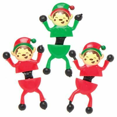 Christmas Elf Wall Climbers Novelty Toys For Kids,Ideal For Party Favours, • 4.99£