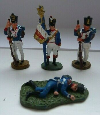 Del Prado Relive Waterloo 28mm Metal Soldiers Don 109/110/112 • 4.95£
