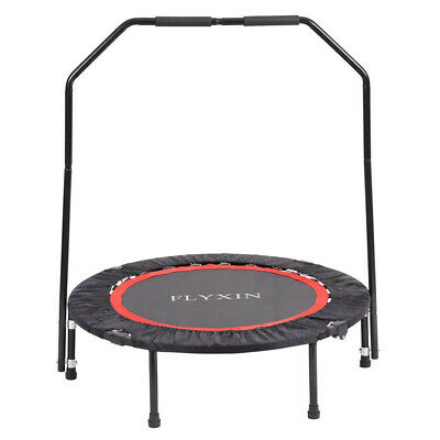 Mini Foldable Trampoline Jumping Fitness For Children And Adults In/Outdoor 40'' • 36.99£