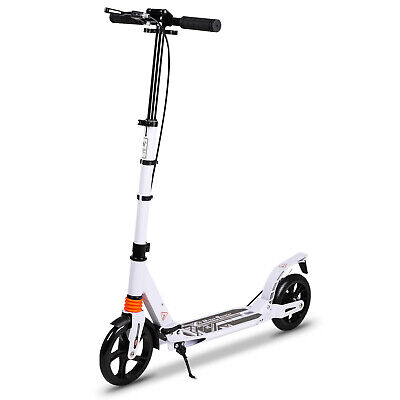 Adult Stunt Scooter Push Kick Scooter ABEC 9 Aluminium 200mm Wheel City Trick • 41.99£
