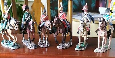 6x DEL PRADO Cavalry Of The Napoleonic Horseback  • 17£