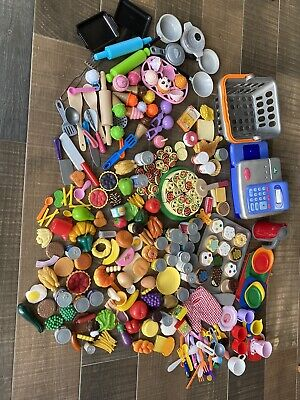 Huge Bundle Of Play Food, Till And Accessories 200+ Pieces • 15£