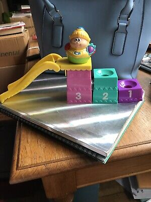 Weeble Play Slide With One Weeble Figure (child Figure) • 4£