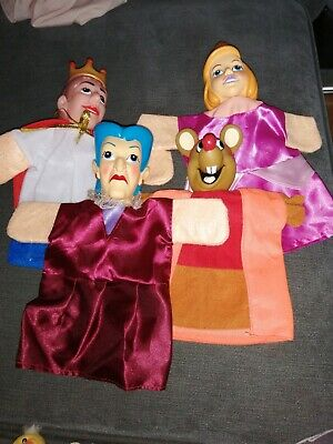 Let's Play Glove Puppet X 4 And Some Finger Puppets • 0.99£