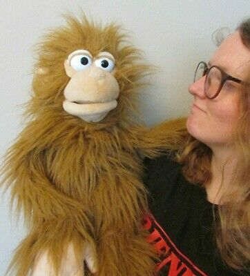 Fab Silly Puppets Monkey Plush Hand Sleeve Ventriloquist Puppet • 26£