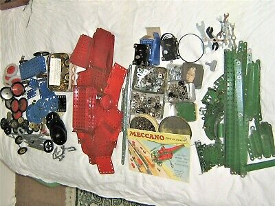 Huge Job Lot Of Meccano 100s Of Pieces Various Conditions • 50£