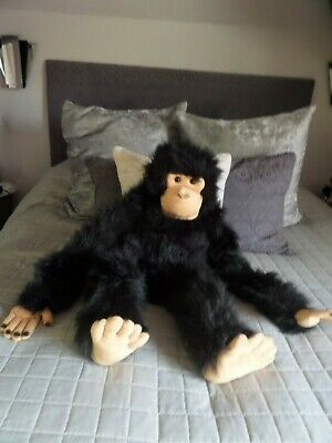 The Puppet Company Large Chimp/gorilla/monkey Full Body Quality Puppet 32  Vgc • 10.50£