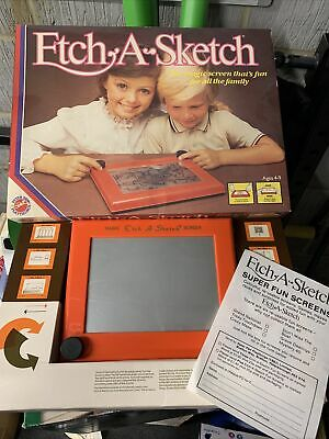 Vintage 80s Etch-A-Sketch In Working Order • 16£