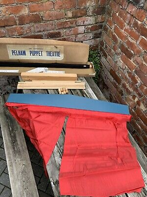 PELHAM PUPPETS LIGHTWEIGHT THEATRE Stage BOXED With INSTRUCTIONS • 19.99£