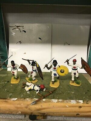 5 X DERVISH WARRIORS SUDANESE WARS 1882-1898   1/32nd FIGURES • 25£