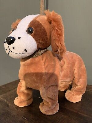 Boogie Beagle Musical Plush Dog On Lead Dances To The Tequila Song • 3.99£