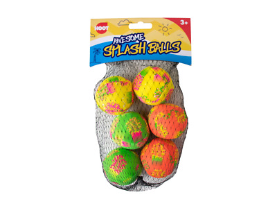 Pack Of 6 Splash Balls/Water Bombs  Fun For Kids Children Adults Pool Parties • 3.25£