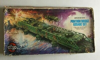 Vintage Airfix Pontoon Bridge Assault Set In Original Box • 14.99£