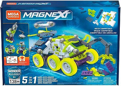 Mega Construx Magnext 5-in-1 Explorers  • 24.99£