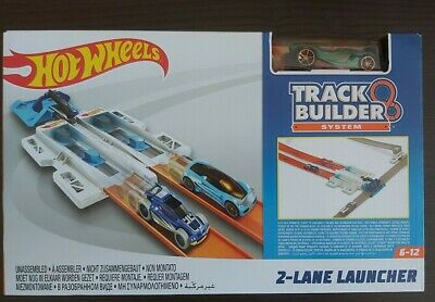 Hot Wheels Track Builder System 2 Lane Launcher (160) • 14.50£
