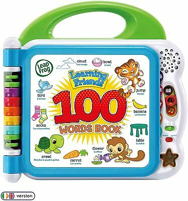 Learning Friends 100 Words Baby Book Educational And Interactive Playbook Toy • 44.99£