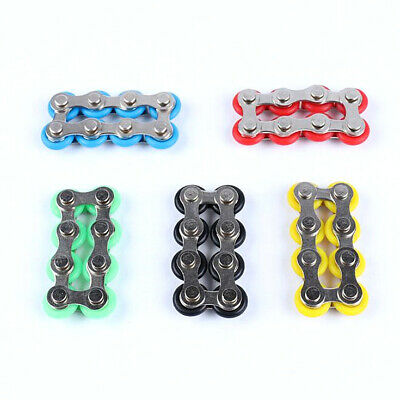 Roller Chain Fidget Toy Stress Reducer For ADHd Anxiety Autism Adult Relief UK • 4.69£