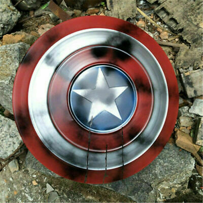 Captain America Shield Battle Marking - Scale 1:1 Full Metal Cosplay Costum Prop • 24.89£