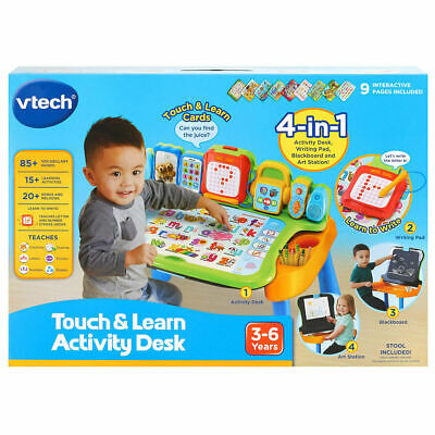 🔥🔥🔥 VTech 4-in-1 Touch And Learn Activity Desk - (3+ Years) - FREE POSTAGE 🔥 • 49.95£
