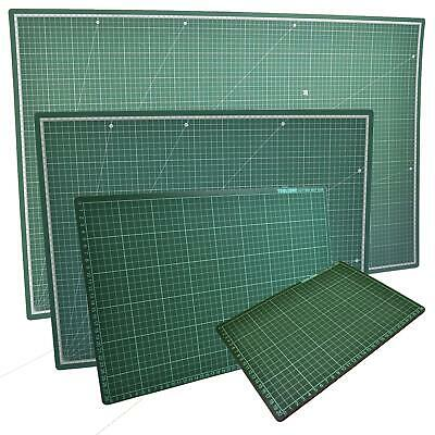 A1, A2, A3 & A4 Healing Mat Cutting Non-Slip Printed Grid Line Craft Board Set • 21.50£