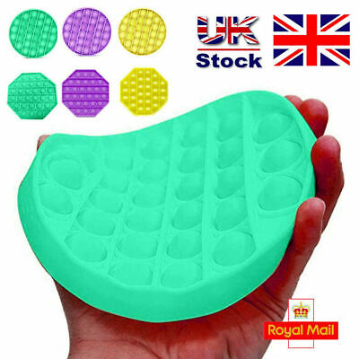 NEW Extrusion Push Bubble Fidget Sensory Toy Stress Reliever Anxiety Relief Toys • 3.99£