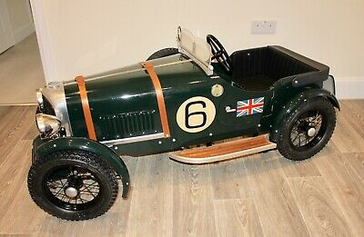 Bentley Speed 6 Classic Hand Crafted Pedal Car Circa 1980. • 5,995£