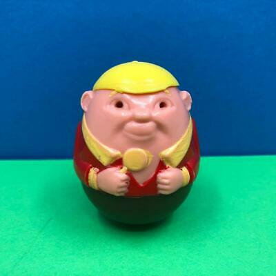 Vintage Airfix Weebles Yellow Hat Lollipop Boy Brown Base Painted Toy Figure 70s • 6.99£