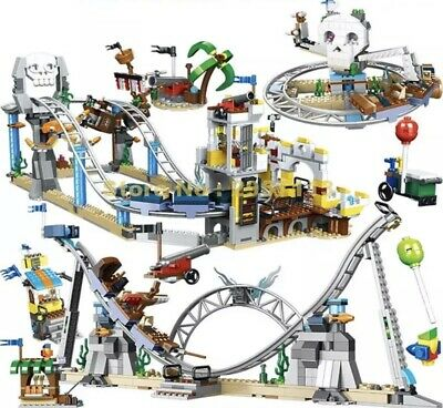 3 In 1 Pirate Roller Coaster Building 1085 Pieces Blocks 31084 Series • 54.99£
