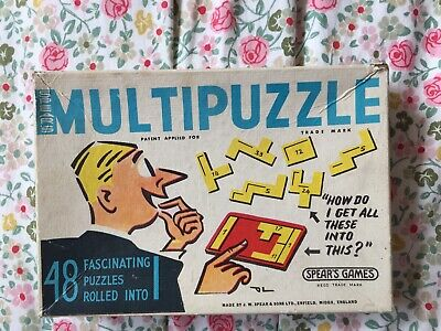 Spear's Multipuzzle Boxed & With Booklet. • 0.99£