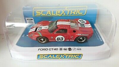 SCALEXTRIC C4152 Ford GT40 Red No.83 Fittipaldi Racing NEW • 40.95£