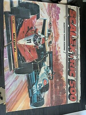 Scalextric 500 Electric Model Racing • 15£