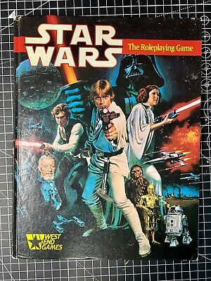 Star Wars - The Roleplaying Game (RPG) 1987 • 19.99£
