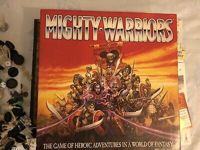 Mighty Warriors Board Game - Warhammer - Quest Type Game • 31£