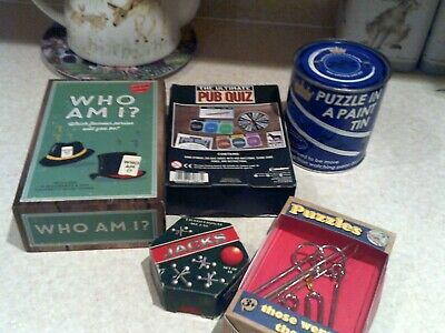 Job Lot Of Small Puzzle Games • 2£