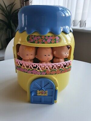 Rare Vintage Tomy Tinkle Tots Beach House And Accessories & 3 Tots 1990s  • 35£