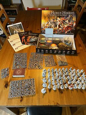 Warhammer 30k Burning Of Prospero Complete, Part Built And In Mint Condition • 104£