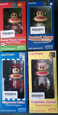 Paul Frank Julius Vinyl Art Figures Set Of 4 • 8.75£