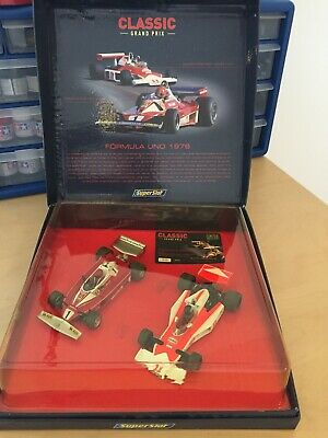 Scalextric Superslot C2558A - Formula One 1976 Set  - Limited Edition • 39£