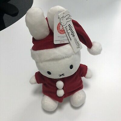 Miffy As Santa Claus Father Christmas Stuffed Toy BNWT From Netherlands New • 25£