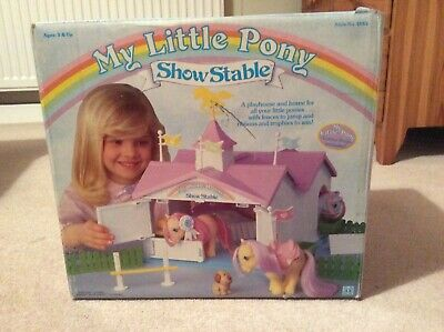 Vintage My Little Pony Show Stable • 8£