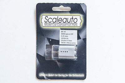 New MRRC/Scaleauto SC-14 Tech 1 Slot Car Motor – Silver • 8.99£