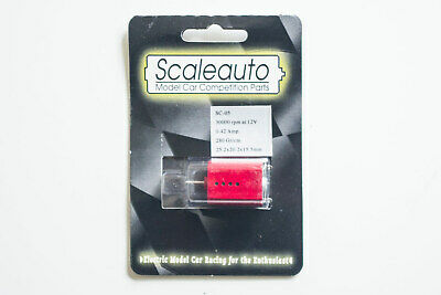 New MRRC/Scaleauto SC-05 Slot Car Motor – Red – 30,000rpm • 8.99£