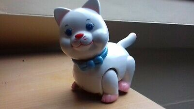 Vintage CHICCO CAT From Indonesia-push Action • 1.99£