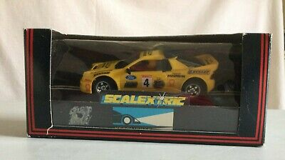 Vintage Scalextric C249 Ford RS200 Radiopaging Car In Original Box • 9.99£