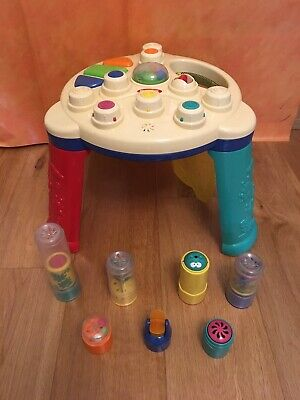 RARE Playskool AIRTIVITY Air Activity Table Infant Toddler Music + 7 ACCESSORIES • 49.95£