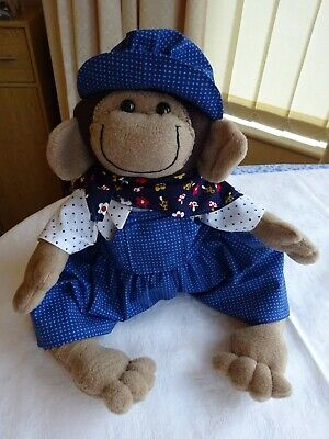 Handmade Monkey & Clothes Soft Toy ( Boy) • 14.99£