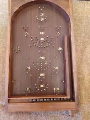 Vintage Table Top Bagatelle Game • 32£