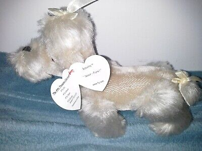 TY Beanie Attic Treasure Collection Poodle Dog Babette With Original Tag • 5£