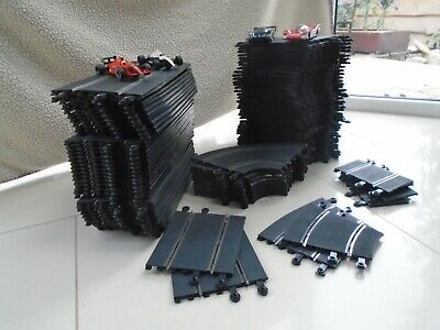 Classic Scalextric Huge Layout 24 Metres Of Track, 4 Cars • 40£