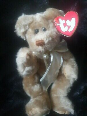 Ty Beanies Bear - Attic Treasures Beverly With Tag - Condition • 5.50£